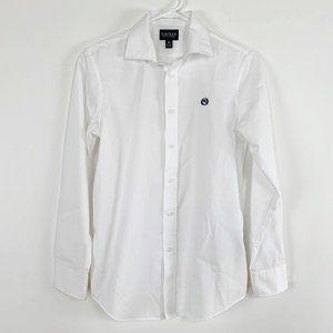 LAUREN Ralph Lauren Girls Button Up Shirt Sz 16 XL